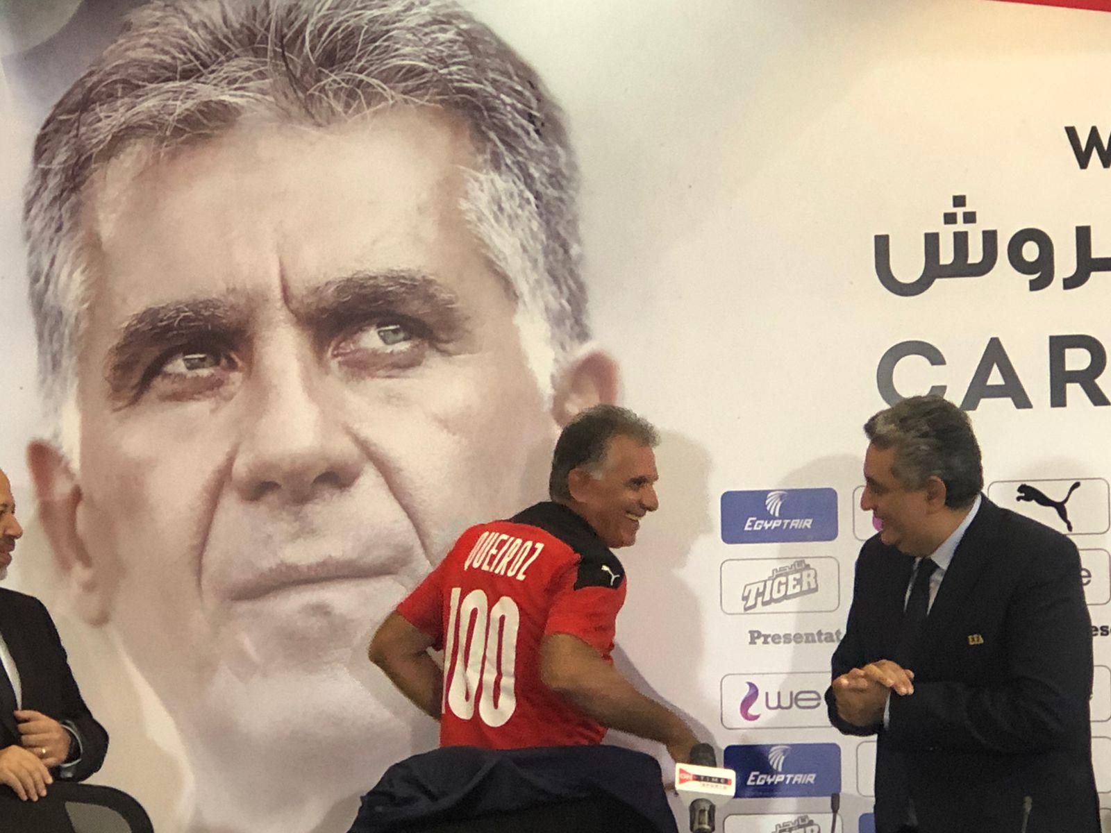 كيروش بقميص مصر