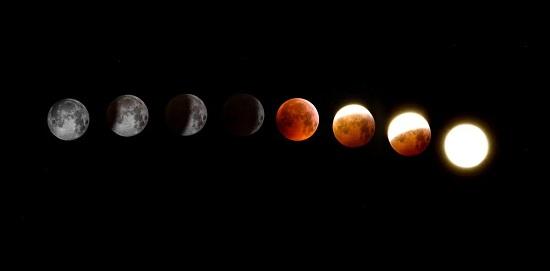 أكتمال القمر