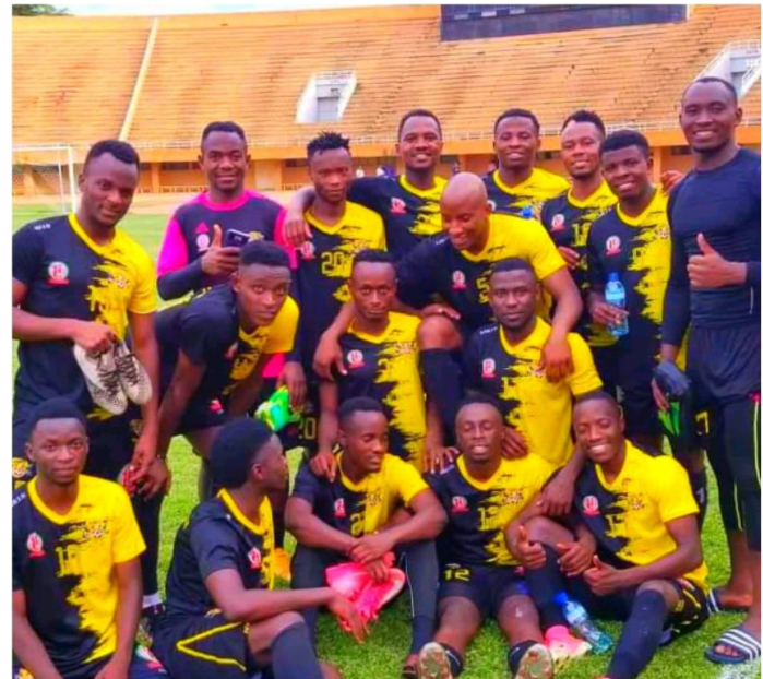 Team Gandarmée, the champion of Niger