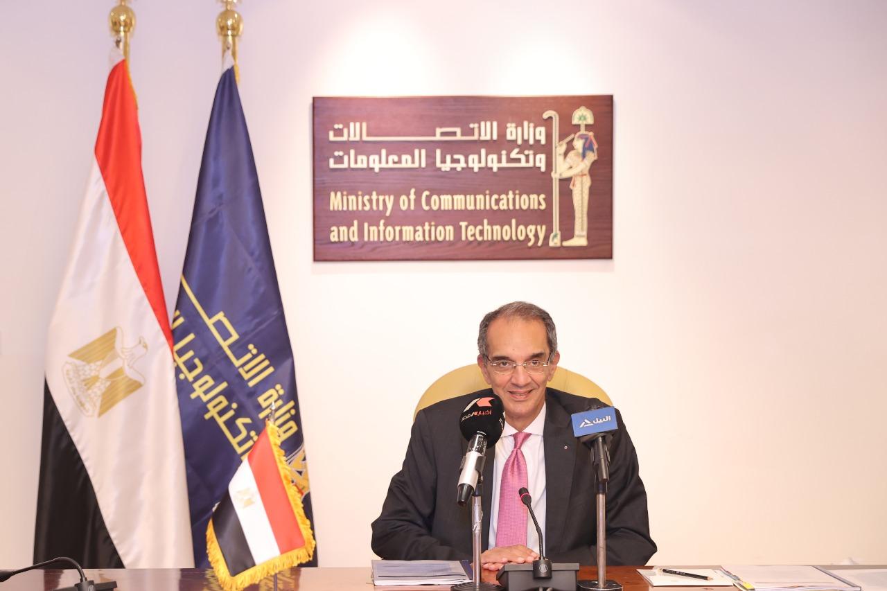 عمرو طلعت وزيرا للاتصالات