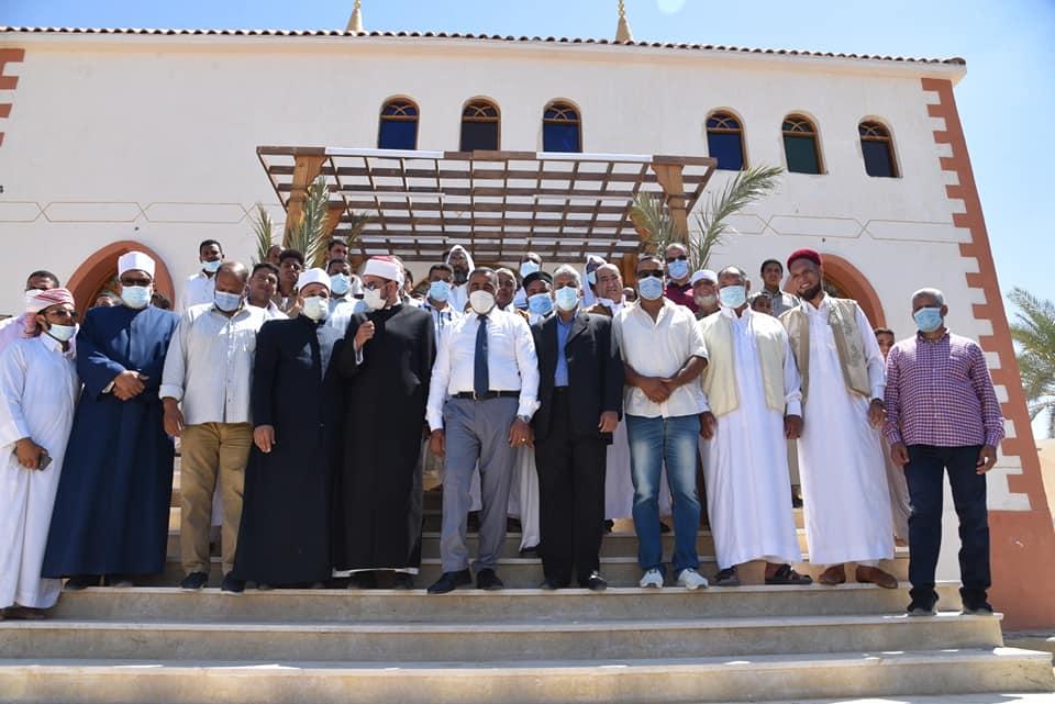 افتتاح مساجد جديدة في مطروح