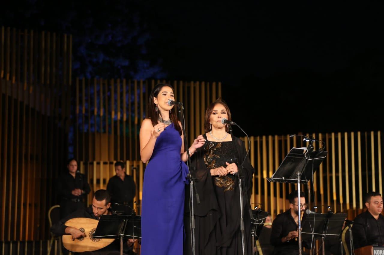 Afaf Radi and Mai Kamal