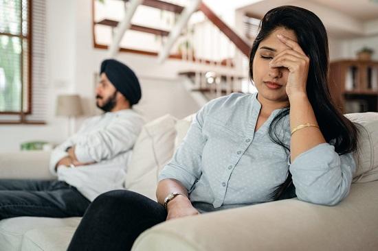 Dealing with a nervous husband