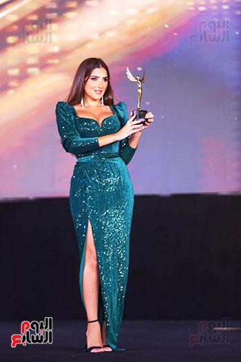 نجوم الفن بمهرجان الفضائيات العربية (21)