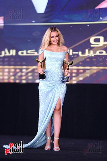 نجوم الفن بمهرجان الفضائيات العربية (42)