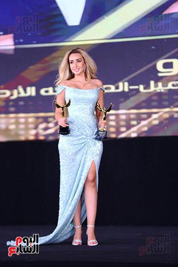 نجوم الفن بمهرجان الفضائيات العربية (47)