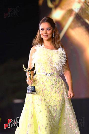 نجوم الفن بمهرجان الفضائيات العربية (23)