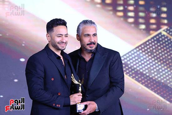 نجوم الفن بمهرجان الفضائيات العربية (36)