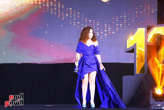 نجوم الفن بمهرجان الفضائيات العربية (43)