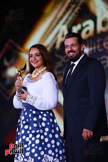 نجوم الفن بمهرجان الفضائيات العربية (44)