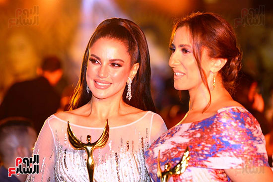 نجوم الفن بمهرجان الفضائيات العربية (22)