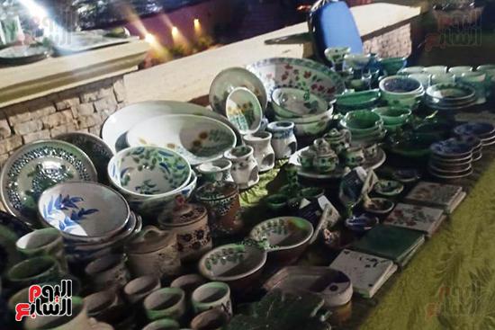 شاهد إنتاج ذوى الهمم بمعرض المنتجات اليدوية المقام فى الإسكندرية (5)