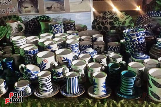 شاهد إنتاج ذوى الهمم بمعرض المنتجات اليدوية المقام فى الإسكندرية (4)