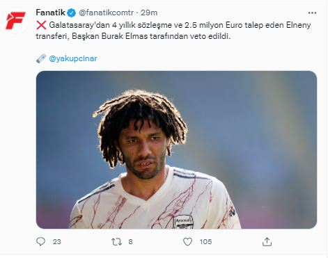 Mohamed Elneny imposes his conditions