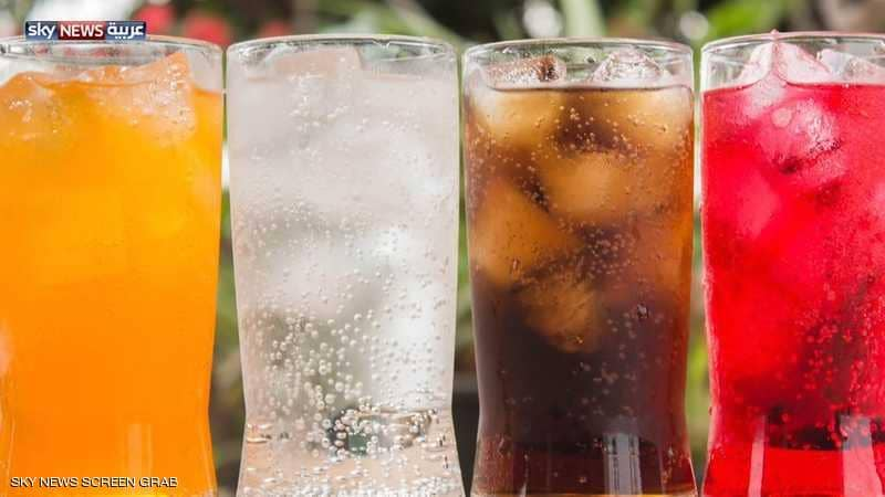 المشروبات الغازية الغنية بالسكر