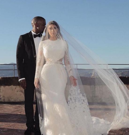 Kim's second wedding