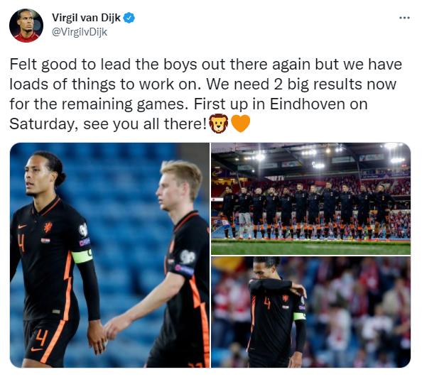 Van Dyck on Twitter