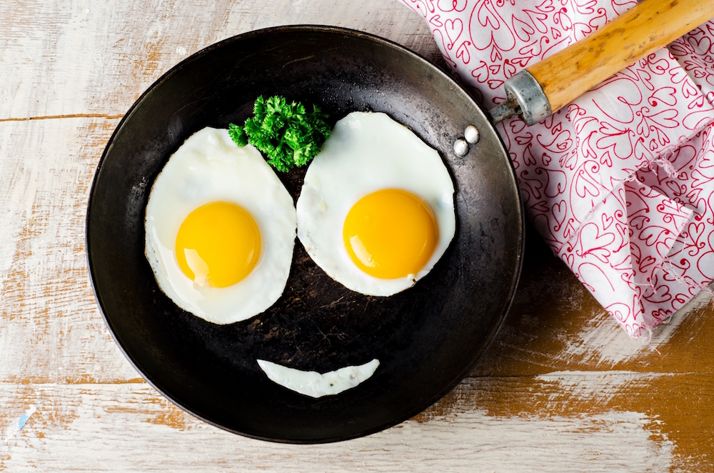 Eggs and breakfast