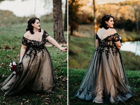 فستان من قماش دانتيل