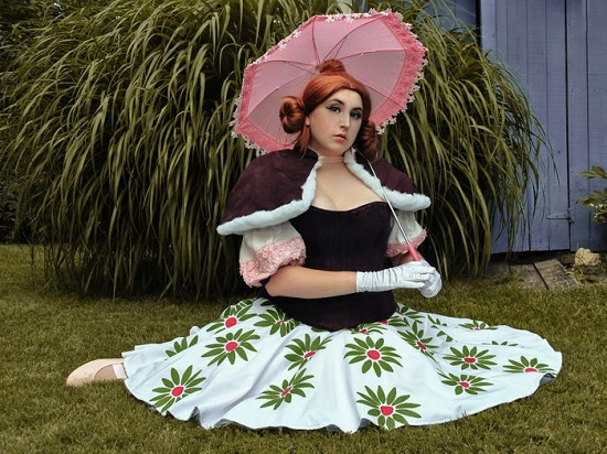 A costume inspired by the movie Haunted Mansion