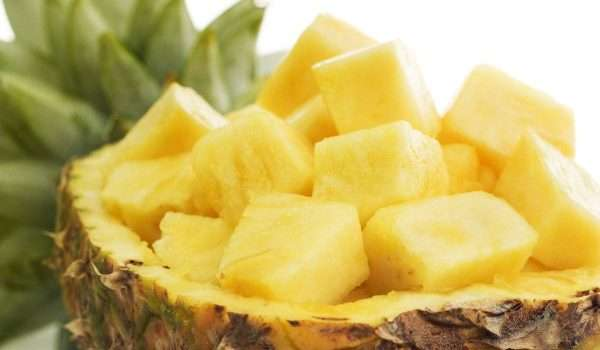 Pineapple is a healthy fruit that is good for your health