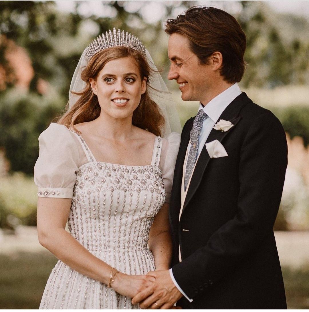 الأميرة بياتريس وزوجها