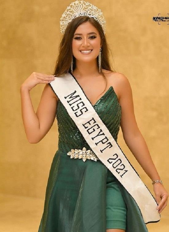نادين الجيار ملكة جمال مصر 2021