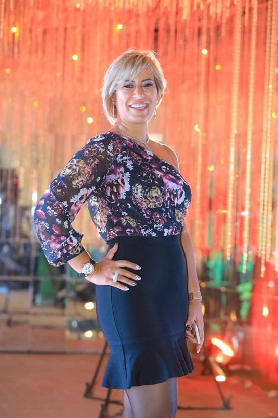 مامت نادين الجيار ملكة جمال مصر