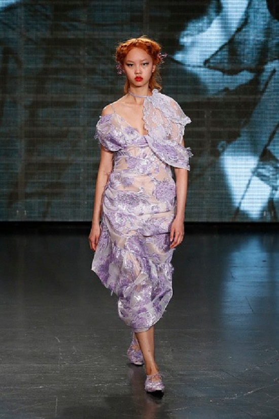 A fashion model