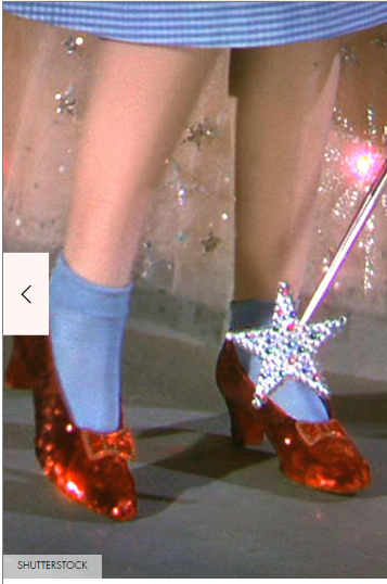 Dorothy's shoes
