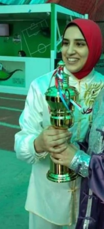 Winning the Karate Championship