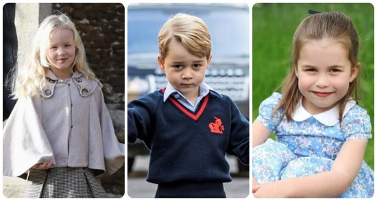 Queen Elizabeth's grandchildren