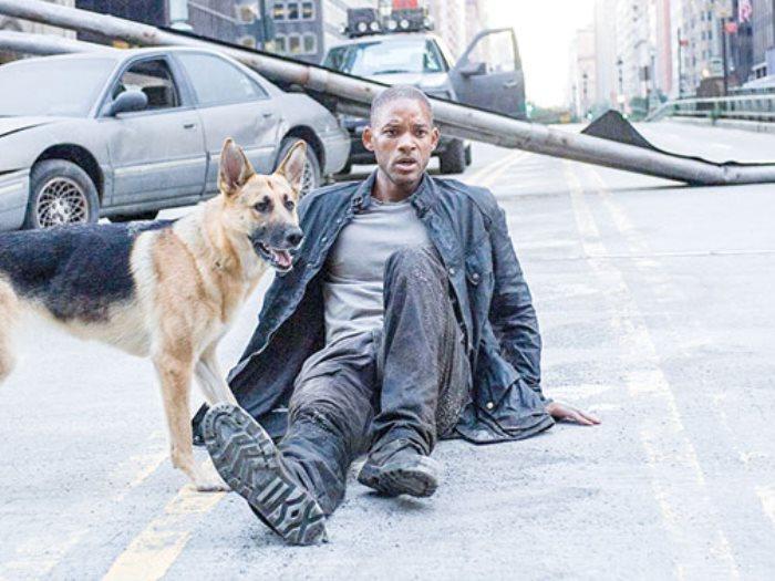 ويل سميث والكلب