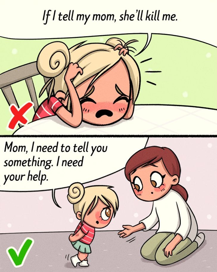 close to your parents
