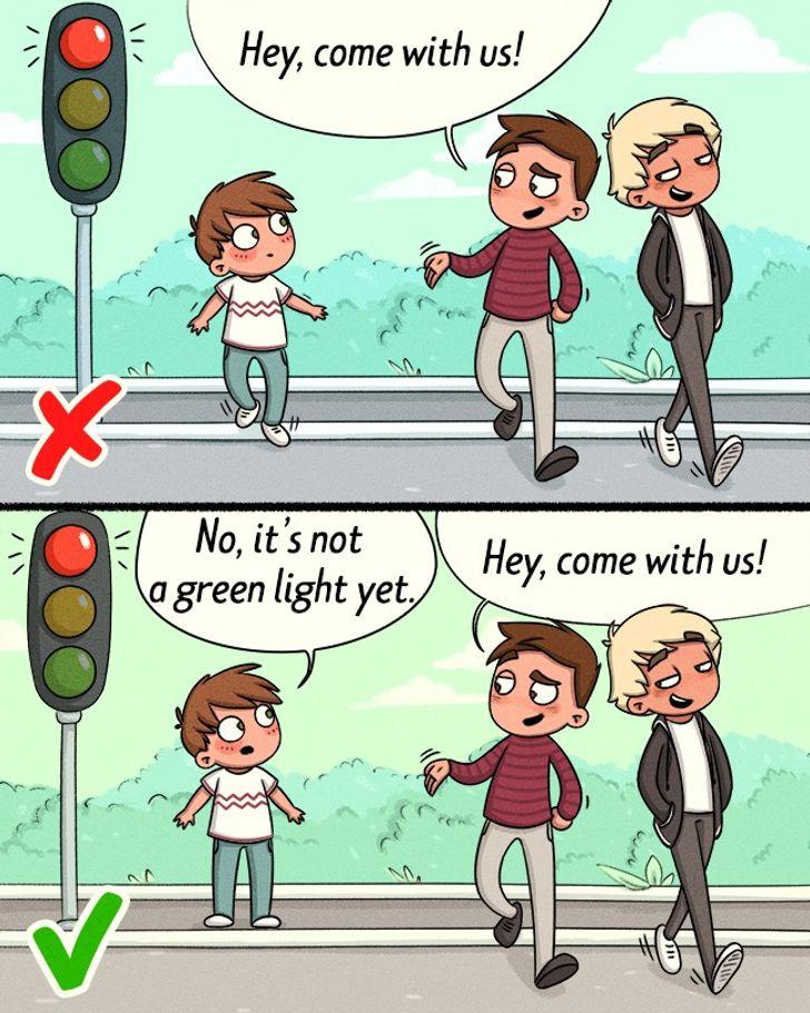 Teach him to say no