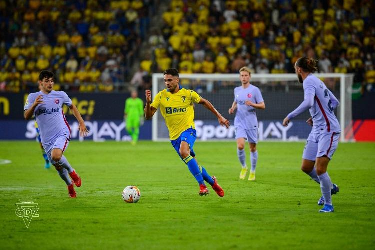 Barcelona and Cadiz match (2)