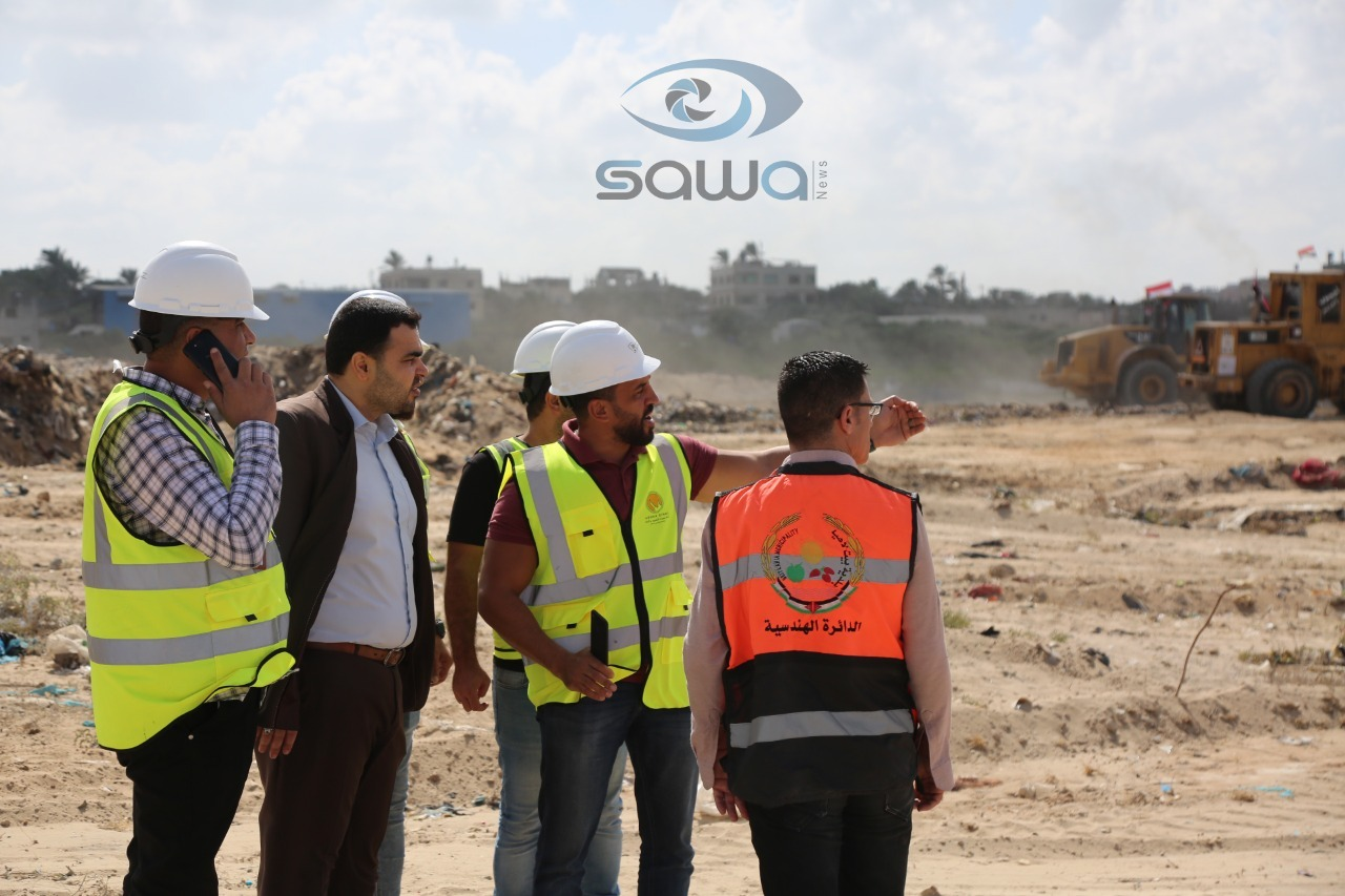 المهندسون المصريون في غزة
