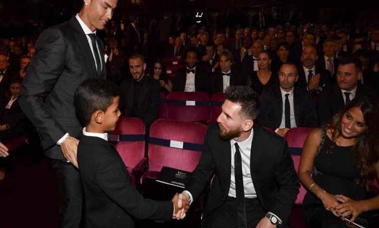 Messi and Ronaldo's son