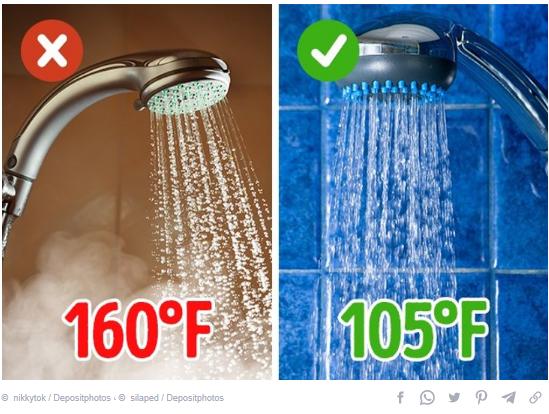 درجة حرارة الماء