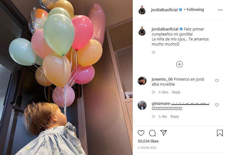 Jordi Alba on Instagram
