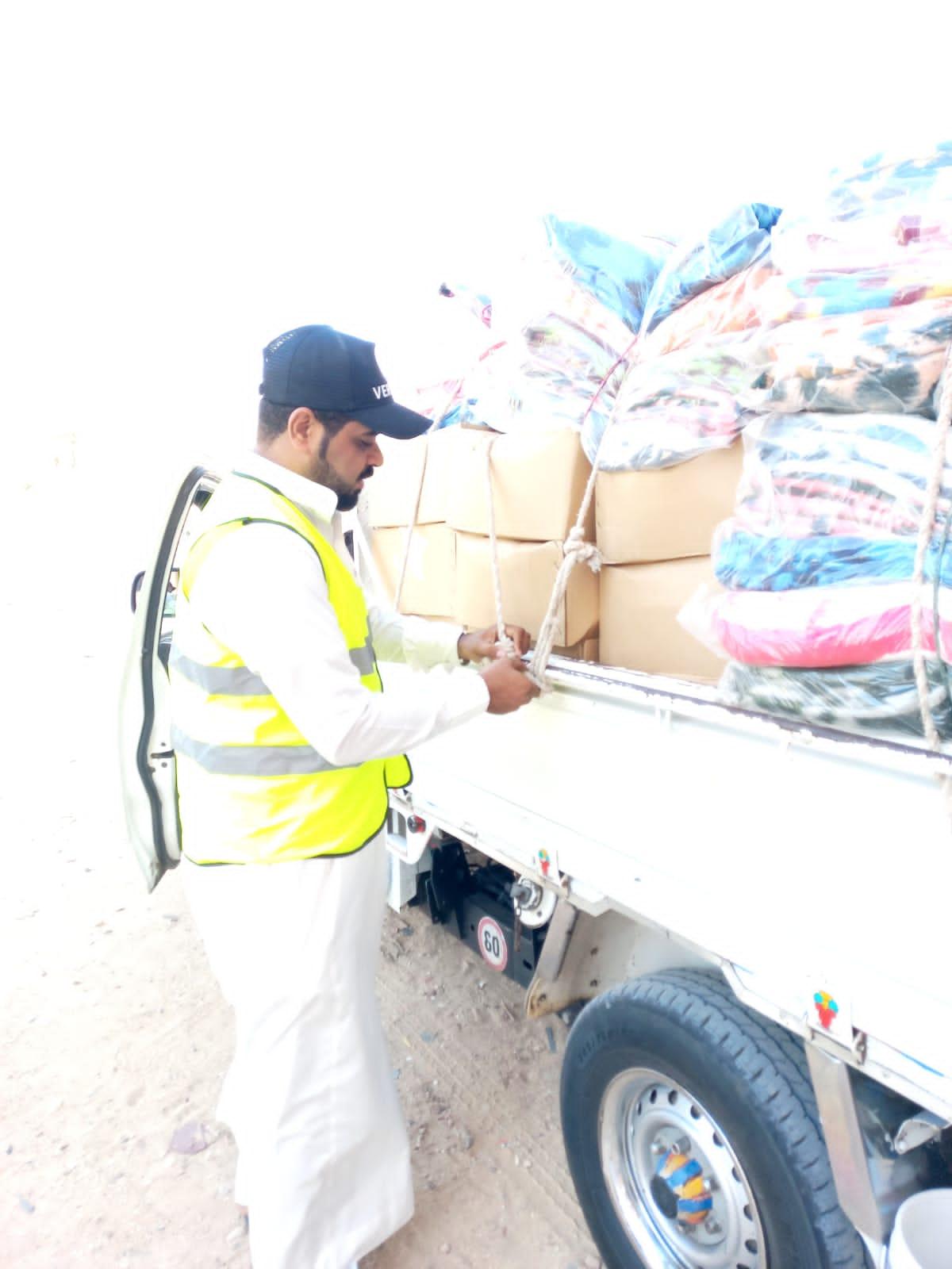 مستقبل وطن يشارك في المساعدات الإنسانية بجنوب سيناء (2)