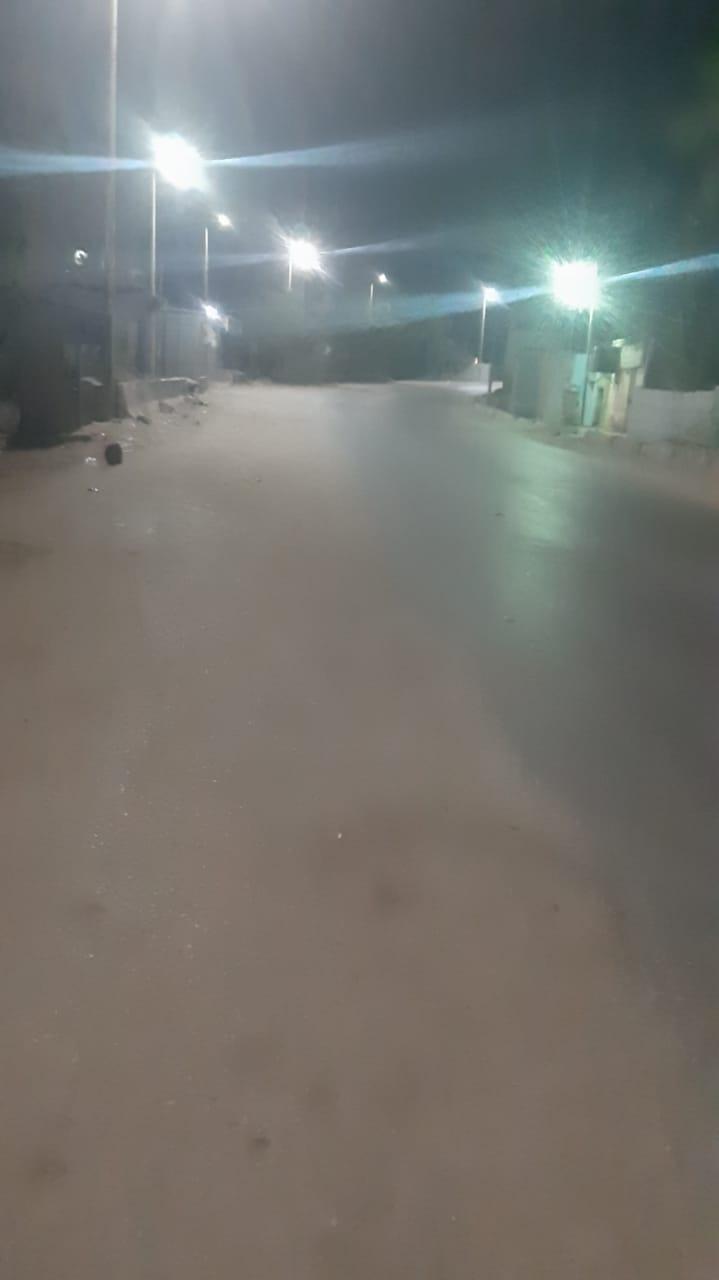 هدوء بقرية سلوا بأسوان بعد حادث اطلاق النار العشوائى (2)