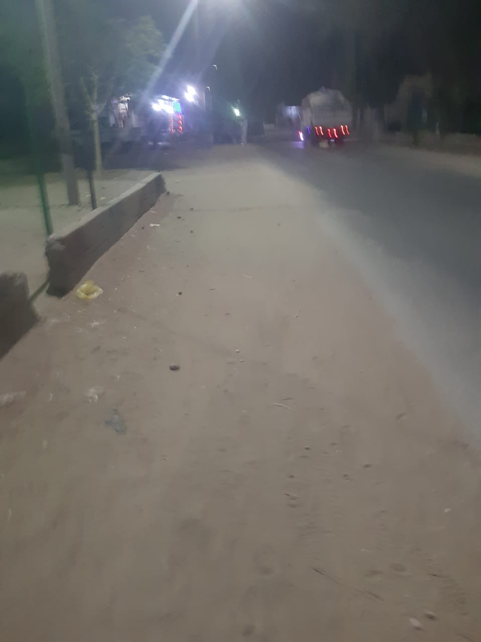 هدوء بقرية سلوا بأسوان بعد حادث اطلاق النار العشوائى (3)