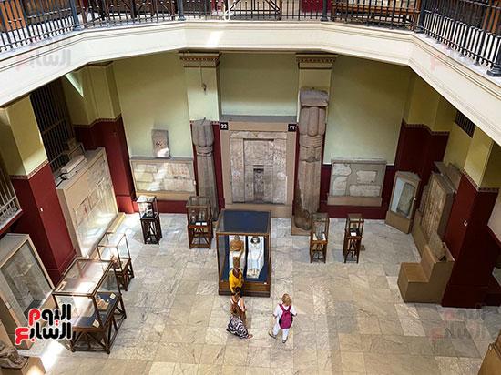 إحدى قاعات المتحف