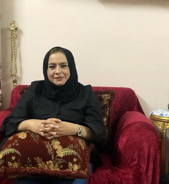 السيدة مني أحمد