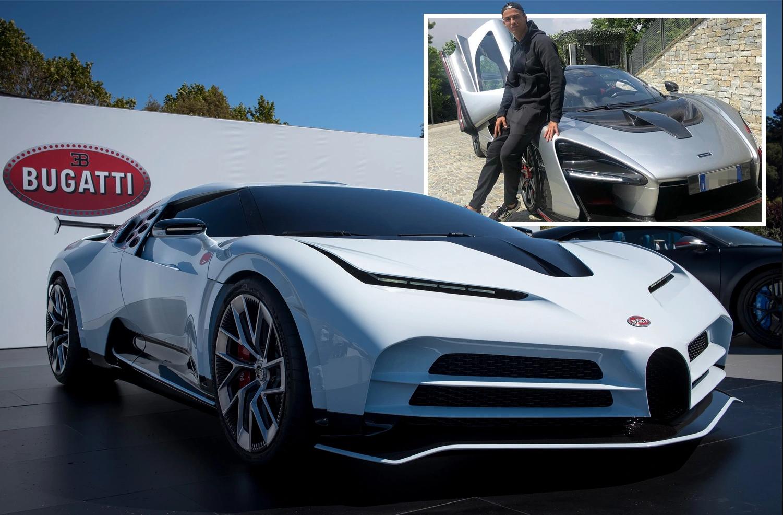 Ronaldo's car - Bugatti