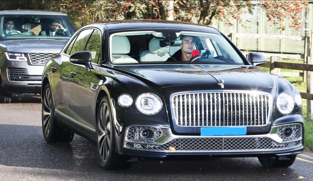 Ronaldo's new car
