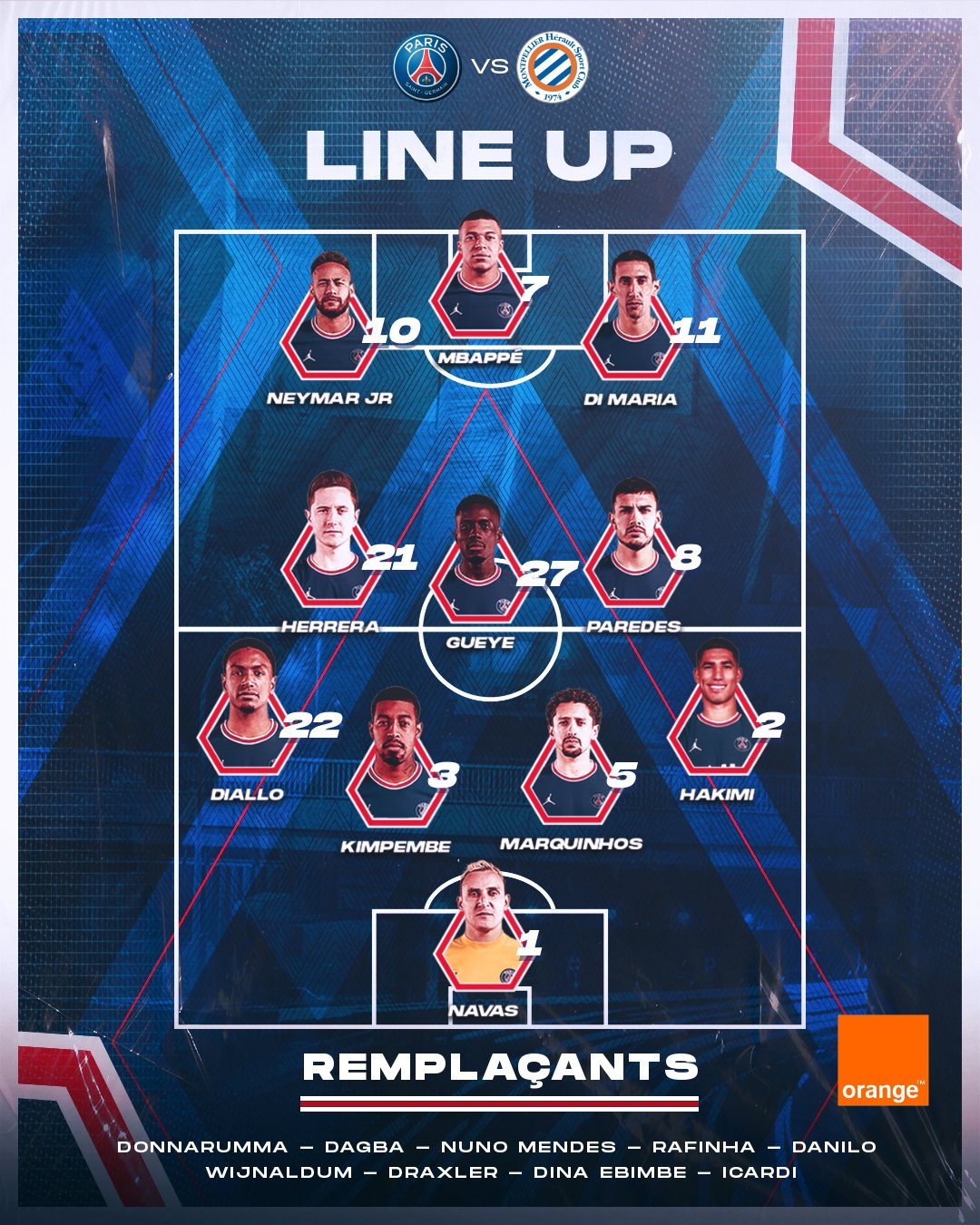 Paris Saint-Germain squad