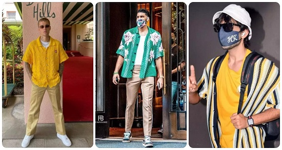 Crochet tops men's fashion trends