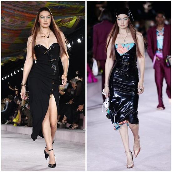 Dua Lipa leads the Versace show at Milan Fashion Week (3)